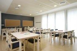 Sala de terapia residencia para ancianos SARquavitae Capdepera