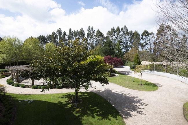 DomusVi Oleiros jardin