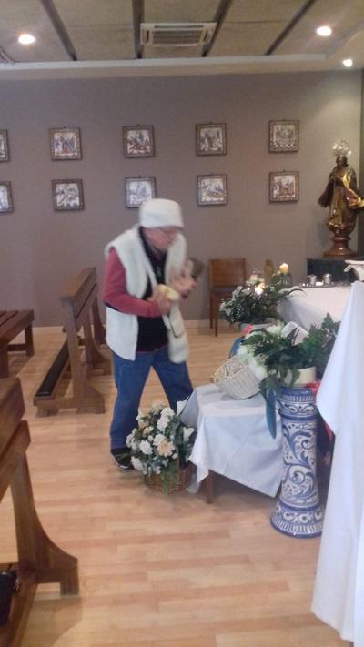Eucaristía misa del gallo DomusVi Santa Justa 3