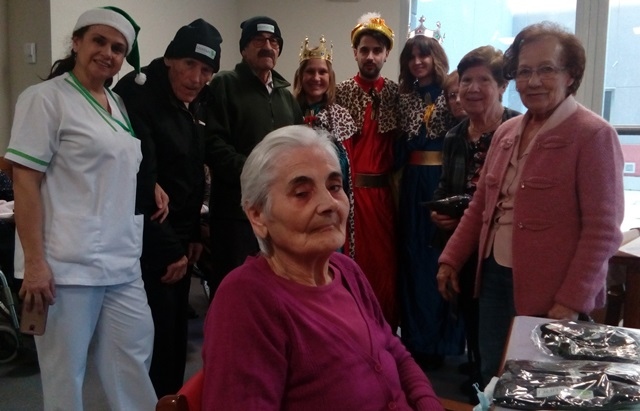 DomusVi Valdemoro, visita reyes magos (2)