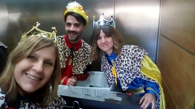 DomusVi Valdemoro, visita reyes magos (4)