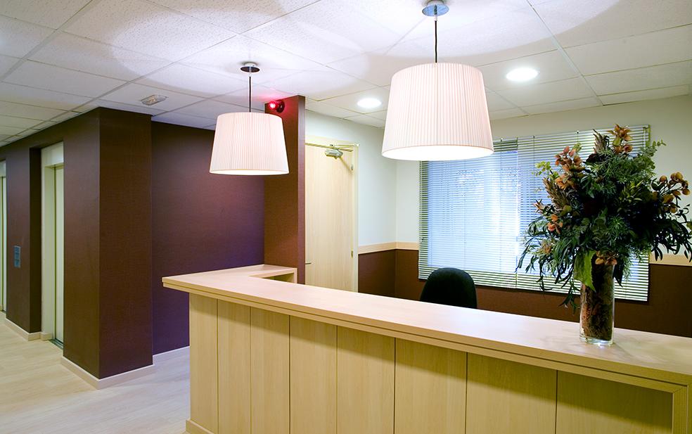 Residencia Ancianos Barcelona - Recepción residencia para mayores SARquavitae Regina