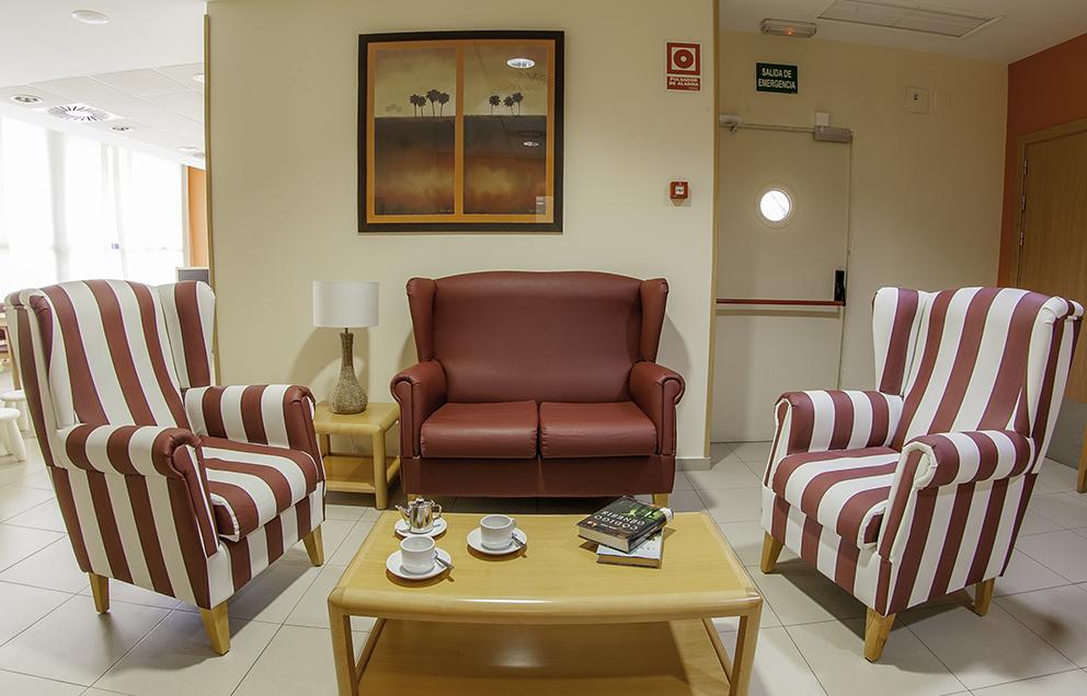 Sala residencia de ancianos SARquavitae Ciudad de Badajoz