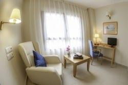 Habitación residencia de ancianos SARquavitae Ciudad de Badajoz
