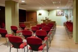 Sala de actos residencia de ancianos SARquavitae San Lázaro Santiago de Compostela