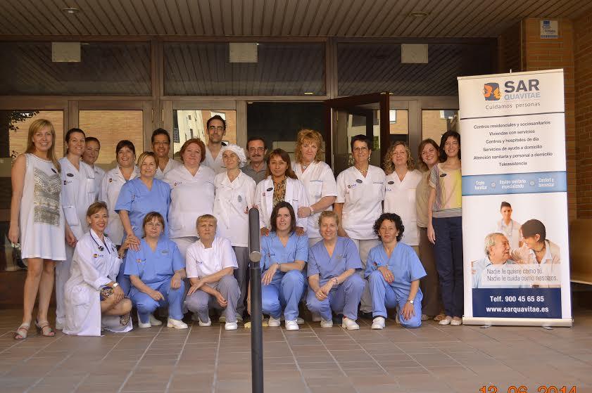 Equipo SARquavitae Fontibre Zaragoza