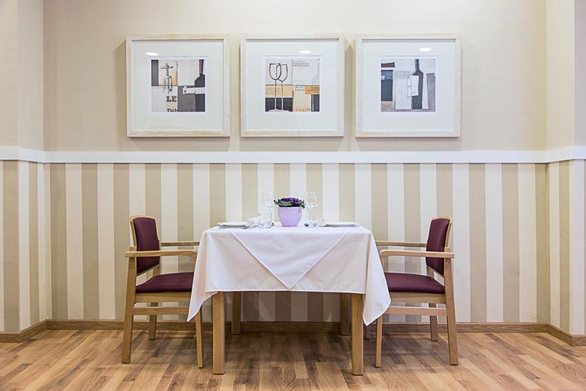 Comedor residencia de ancianos SARquavitae Condes de Corbull Jaén