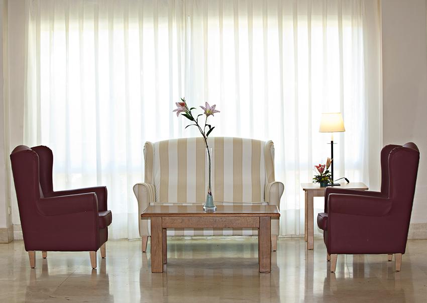 DomusVi Azalea sala de estar