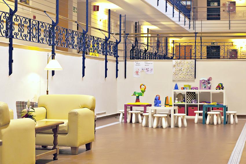 Sala terapia residencia para ancianos SARquavitae Azalea Málaga