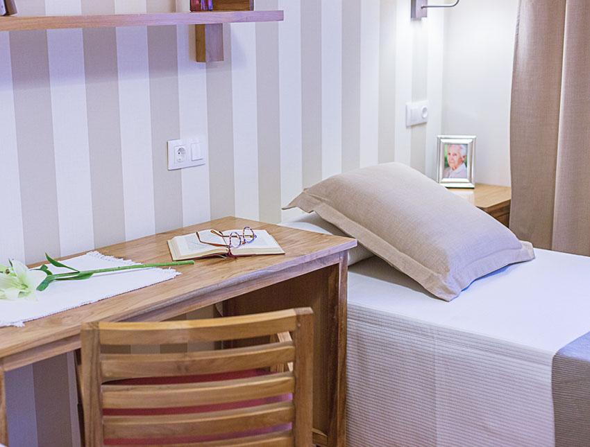 Habitación residencia para ancianos SARquavitae Condes de Corbull