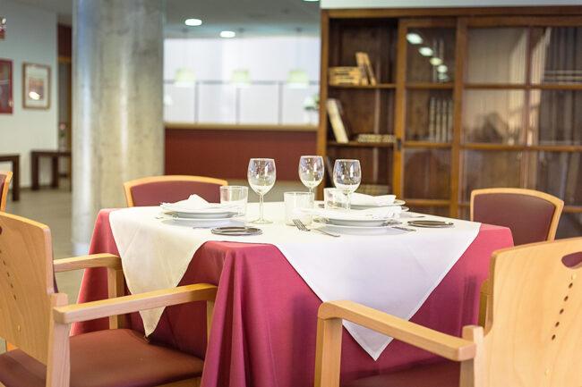 Comedor residencia para mayores Micaela Aramburu