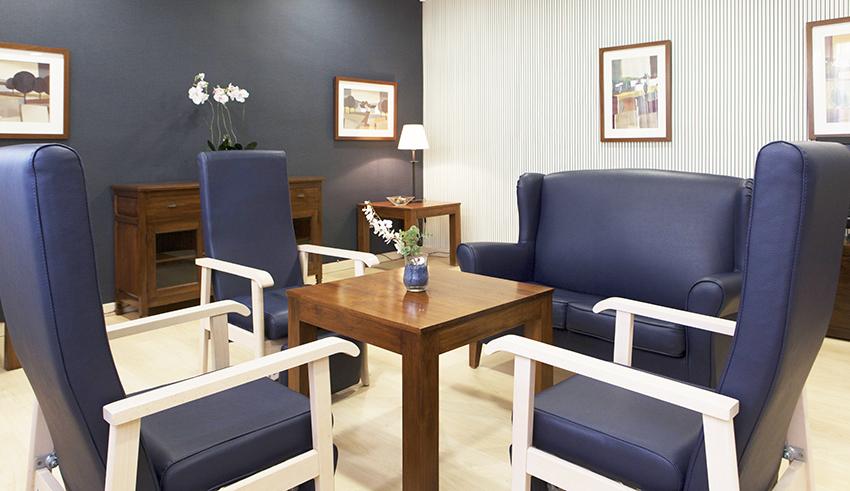 Sala residencia para mayores SARquavitae  Costa d&#39 en Blanes