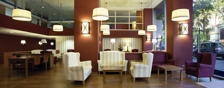 Salones de la residencia para ancianos SARquavitae Claret