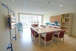 Sala de terapia residencia de ancianos SARquavitae Valdeolivas Toledo