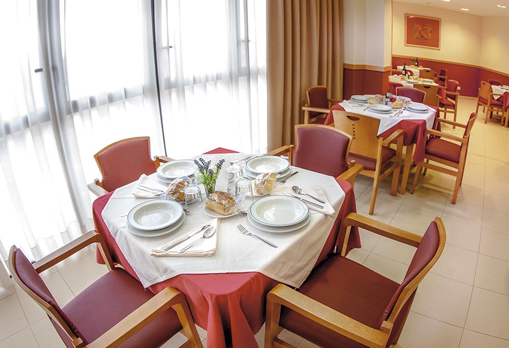 Comedor residencia de ancianos SARquavitae Ciudad de Badajoz