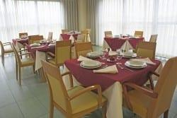 Comedor residencia de ancianos SARquavitae San Lázaro Santiago de Compostela