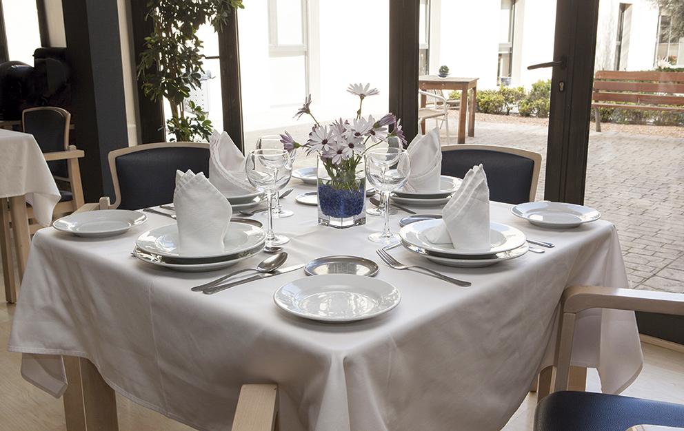 Comedor residencia tercera edad SARquavitae Can Carbonell