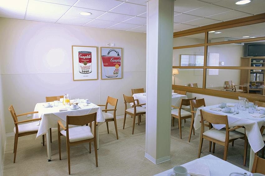 Comedor residencia de ancianos SARquavitae Jaume Nadal Meroles Lleida