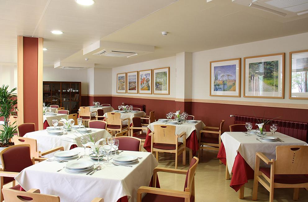Comedor residencia para ancianos  SARquavitae Zalfonada Zaragoza