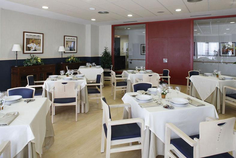 Comedor residencia para mayores SARquavitae Costa d' en Blanes