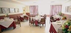Comedor residencia para mayores SARquavitae Santa Justa Sevilla