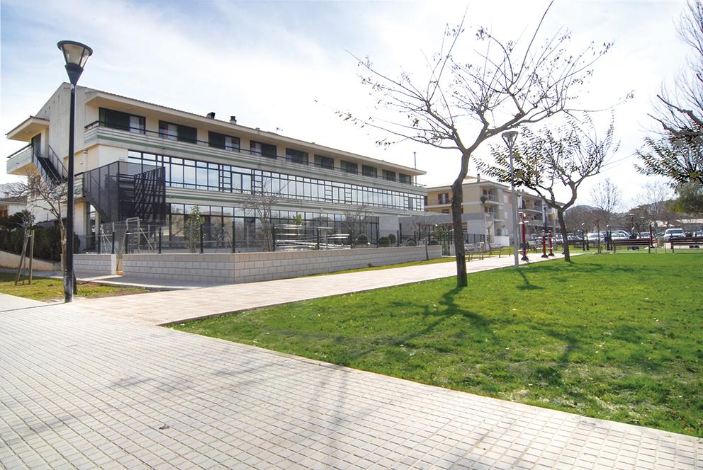 Jardín residencia para ancianos  Alcúdia