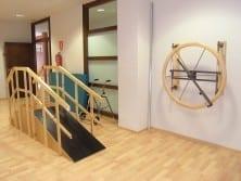 Gimnasio residencia para ancianos SARquavitae Sierra de las Nieves Málaga