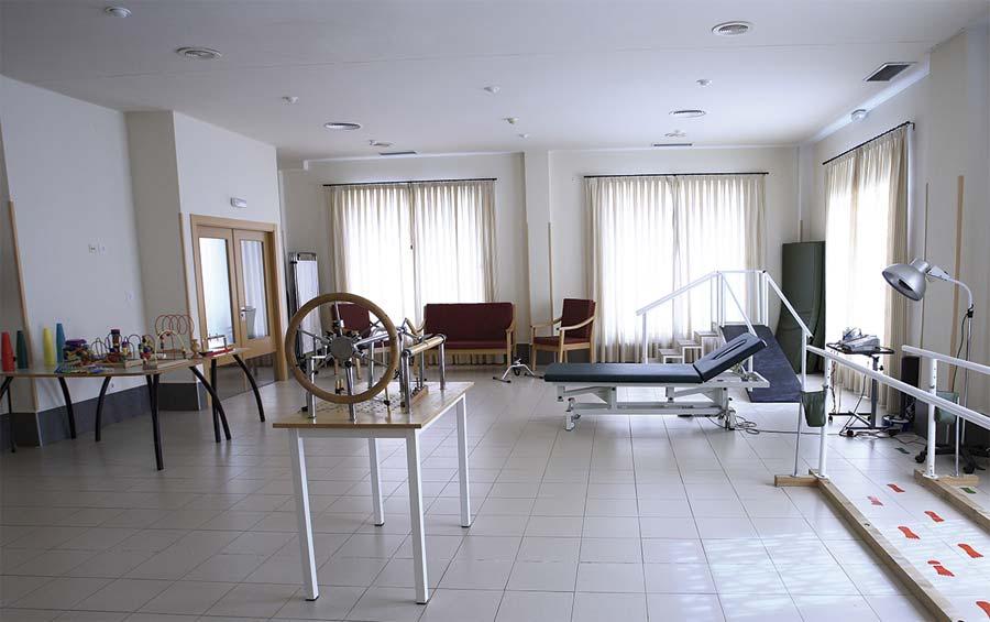 Gimnasio de la residencia para la tercera edad SARquavitae Monteval