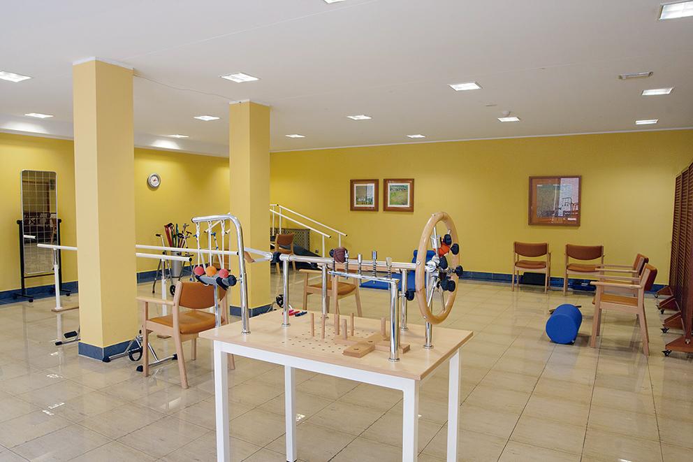 Gimnasio residencia para ancianos SARquavitae La Florida Oviedo