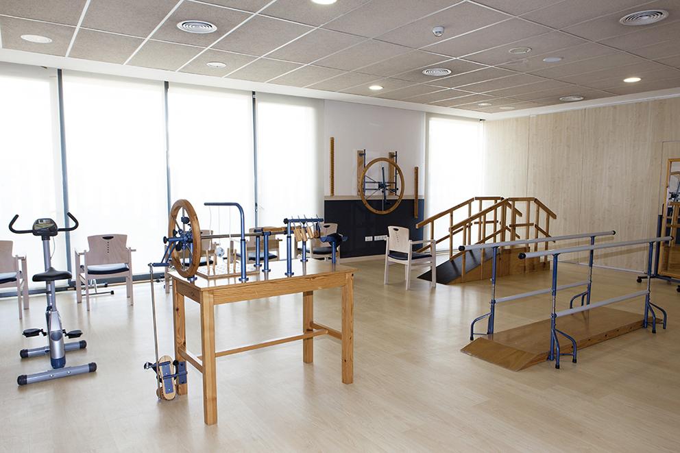 Gimnasio residencia tercera edad SARquavitae Can Carbonell