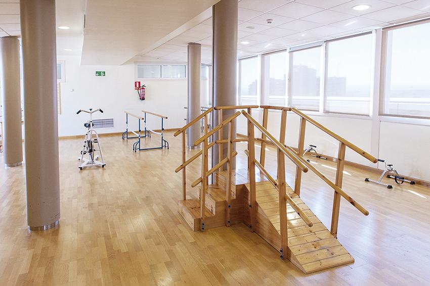Gimnasio residencia de ancianos SARquavitae Jaume Nadal Meroles Lleida