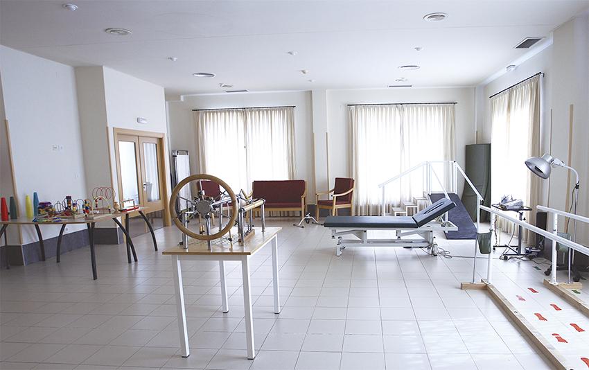 Gimnasio residencia tercera edad SARquavitae Monte Val