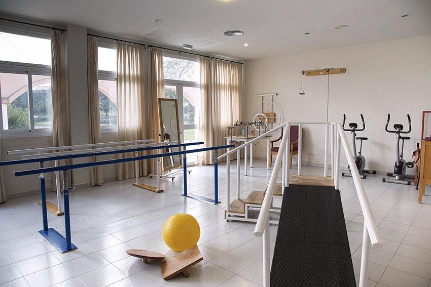 Gimnasio residencia geriátrica SARquavitae Monte Jara Huelva