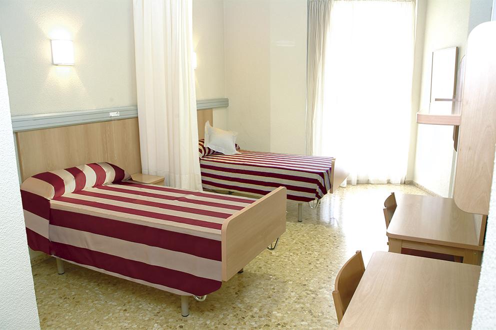 Habitación doble residencia para mayores SARquavitae Monte Arse Valencia