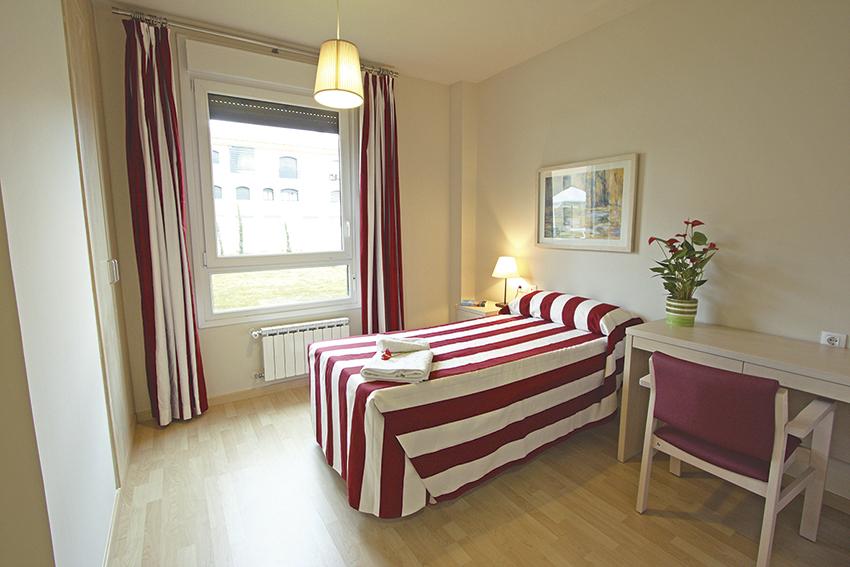 Habitación residencia de ancianos SARquavitae Valdeolivas Toledo