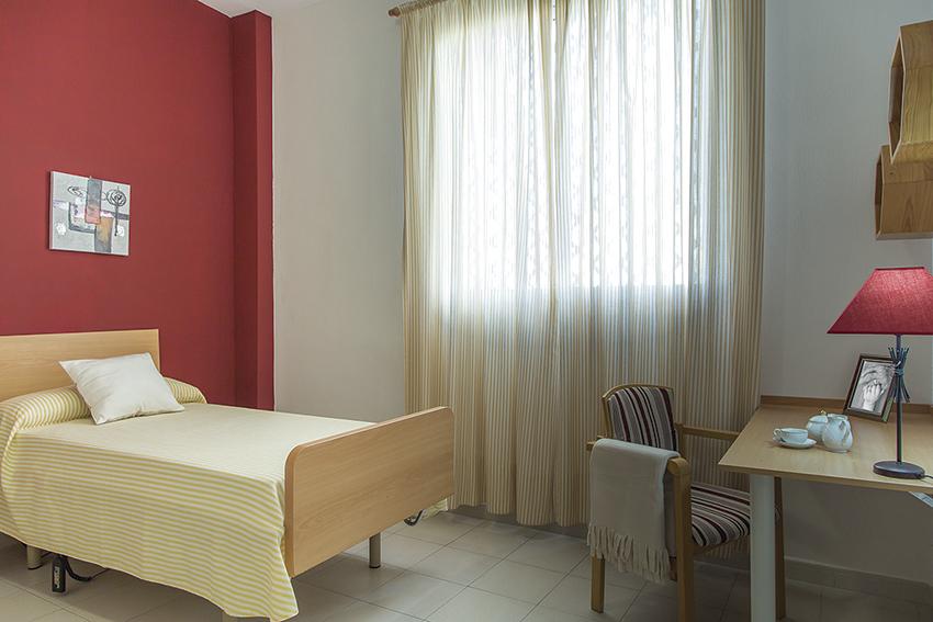Habitación residencia geriátrica SARquavitae Monte Jara Huelva