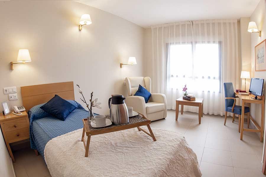 Gran habitación individual SARquavitae Ciudad de Badajoz