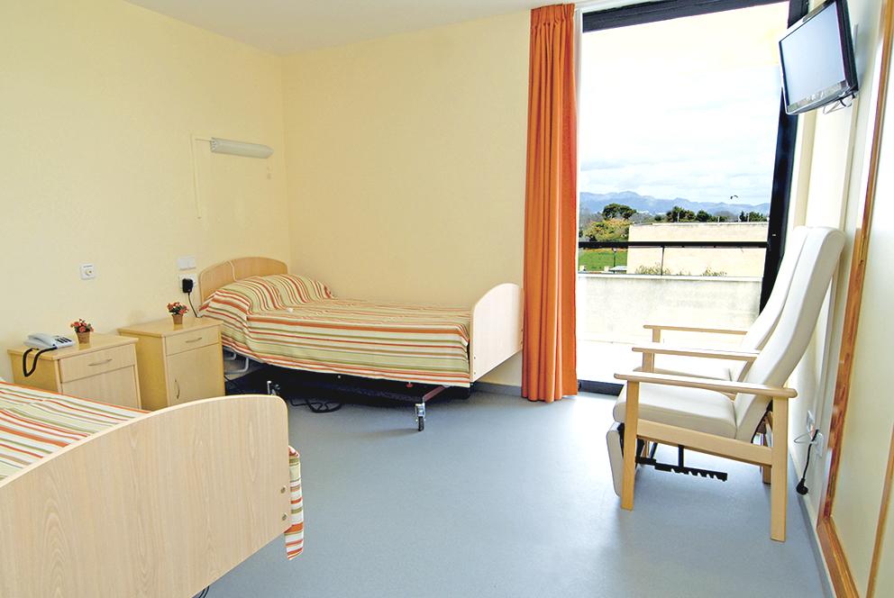Habitación residencia para ancianos  Alcúdia