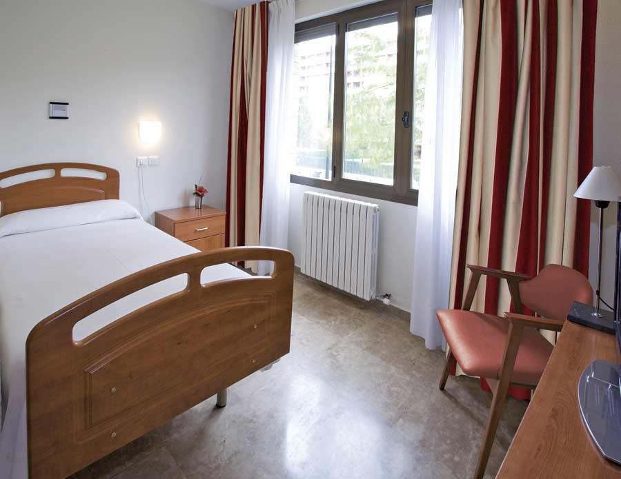 Vistas de la habitación de la residencia para la tercera edad SARquavitae Fontibre