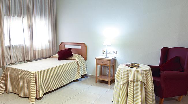 Habitación residencia para mayores SARquavitae Monte Alto