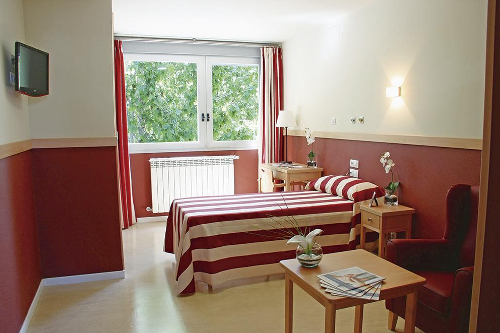 Habitación individual residencia para ancianos  SARquavitae Zalfonada Zaragoza