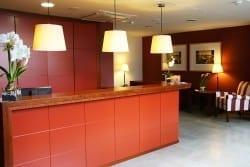 Recpeción residencia para ancianos SARquavitae Zalfonada Zaragoza
