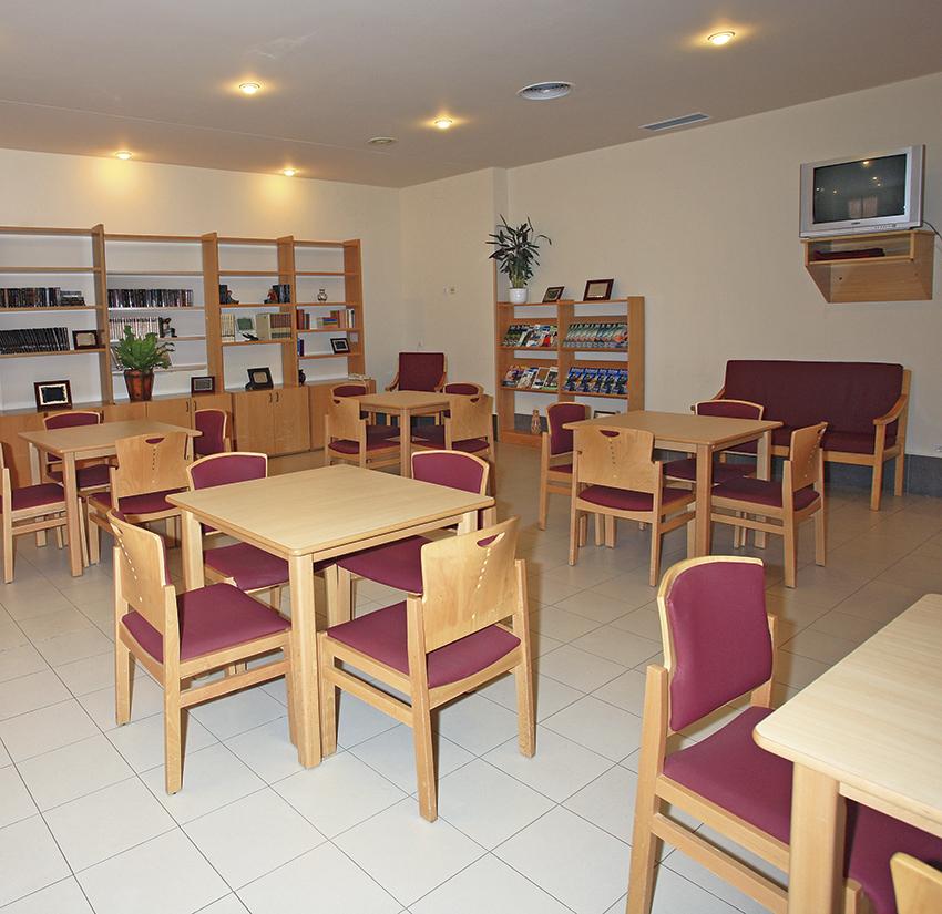 Salón residencia tercera edad SARquavitae Monte Val