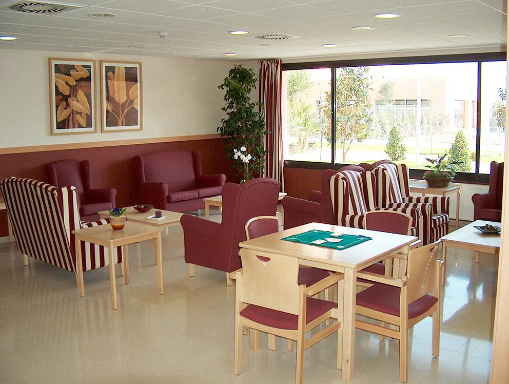 Residencia Ancianos Madrid - Sala terapia residencia para la tercera edad SARquavitae Ciudad de Móstoles
