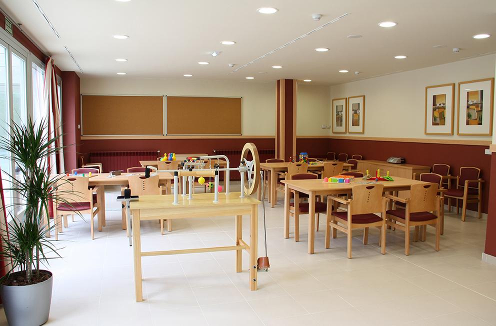 Sala terapia residencia para ancianos  SARquavitae Zalfonada Zaragoza