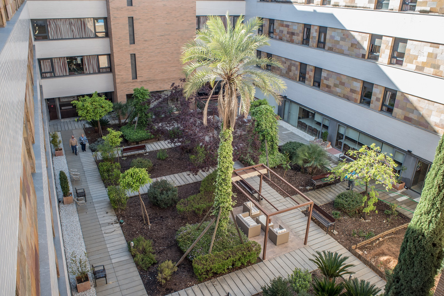 Residencia para mayores Santa Justa, Sevilla