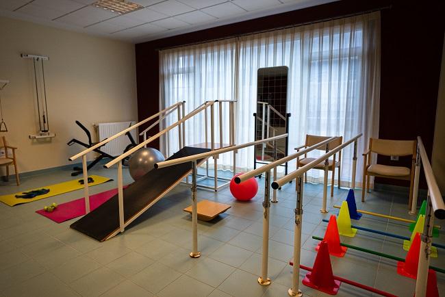 Residencia San Lázaro Santiago de Compostela Gimnasio2
