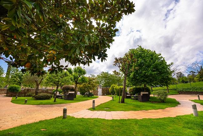 Residencia San Lázaro Santiago de Compostela Jardín2