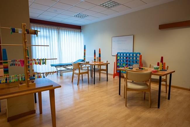 Residencia San Lázaro Santiago de Compostela Sala de Terapia