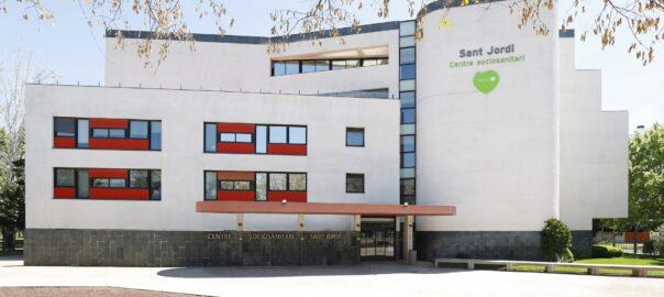 Residencia Sant Jordi Barcelona Fachada
